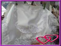 Свадебный фартук для невесты