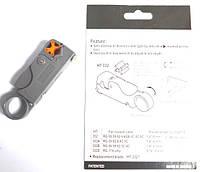 12-0831. Инструмент для зачистки коаксиального кабеля RG-58, 59,6 HT-332
