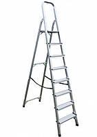 Лестница алюминиевая односторонняя ITOSS 8 ступеней