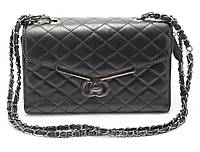Оригинальный стеганый женский клатч-сумка Б/Н art. 923 черн, фото 1