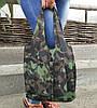 Сумка для покупок трансформер Gidra Black черная сумка хозяйственная (Украина), фото 5