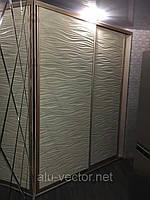 Двери-купе с 3Д Мдф панелью, фото 1