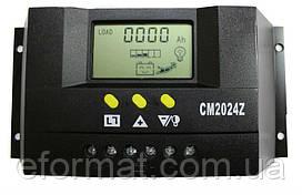 Фотоэлектрический контроллер заряда JUTA DY2024, 20А 12/24В+USB, PWM