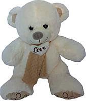 Мягкая игрушка «Плюшевый мишка Кевин 50 см с шарфом»