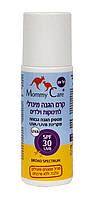 Минеральный органический солнцезащитный детский роликовый лосьон SPF-30, UVА/UVB, 70 мл Mommy Care (952966)