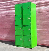 Камеры хранения для магазина на 8 ячейки бу, фото 1