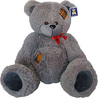 Мягкая игрушка «Плюшевый серый мишка Тедди 75 см»