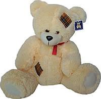 Мягкая игрушка «Плюшевый молочный мишка Тедди 75 см»