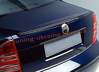 Спойлер на крышку багажника из ABS пластика на Volkswagen Passat B5 1996-2005