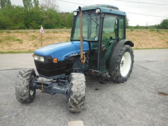 Трактор б/у. Трактор New Holland TNF 65 (№1511).