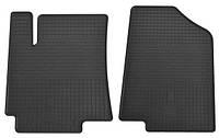 Резиновые передние коврики в салон Hyundai Accent IV (RB) 2011- (STINGRAY)