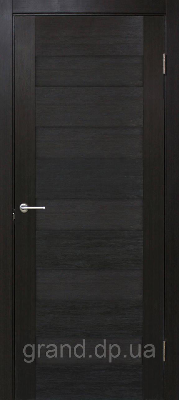 """Дверь межкомнатная """"Форте лиана ПГ"""" глухая, цвет венге"""