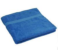 Полотенце махровое Руно 70x140 Синее