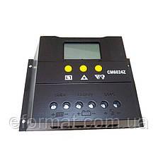 Фотоэлектрический контроллер заряда JUTA WP6024D, 60А 12/24В, PWM