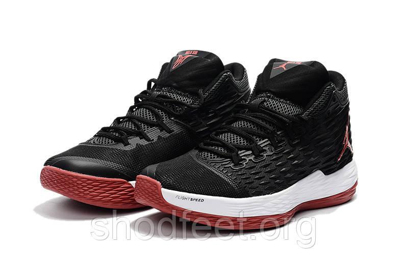 Мужские баскетбольные кроссовки Jordan Melo M13 Black red