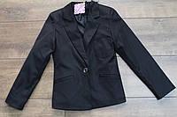 Катоновый пиджак для девочек  140- 158 рост