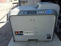 Цветной лазерный принтер Samsung CLP-500 с картриджами