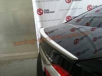 Спойлер-сабля на багажника из ABS пластика на Toyota Camry XV50 2011-2014