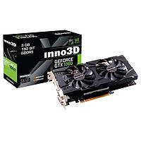 Видеокарта GeForce GTX1060 3GB DDR5, 192 bit, PCI-E 3.0 Inno3D (N106F-2SDN-L5GS)
