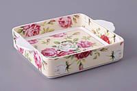 Блюдо для холодца Lefard Цветы 24х19х10 см 455-035