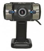 Веб-камера для ноутбука HQ-Tech WU-8019 Black / Silver (WU-8019) (Разрешение видео: 960р 15fps, Количество пик