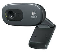 Веб-камера для ноутбука Logitech Webcam C270 HD Grey / Black (960-001063) (Разрешение видео: 720р, Количество