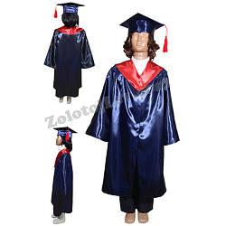 Детская мантия выпускника рост 116