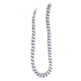 Косичка Гавана Мамбо Твист 60 см платиновый серый