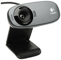 Веб-камера универсальная Logitech Webcam C310 HD Black (960-001065) (Разрешение видео: 720р, Количество пиксел
