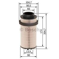 Фільтр паливний DAF CF75/CF85/XF95 вставка F026402033