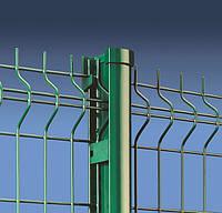 Металлическое ограждение Заборная секция 200x50мм 5,0мм 1430x2500 мм