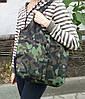Сумка для покупок трансформер Gidra Wood камуфляжна господарська сумка (Україна), фото 7