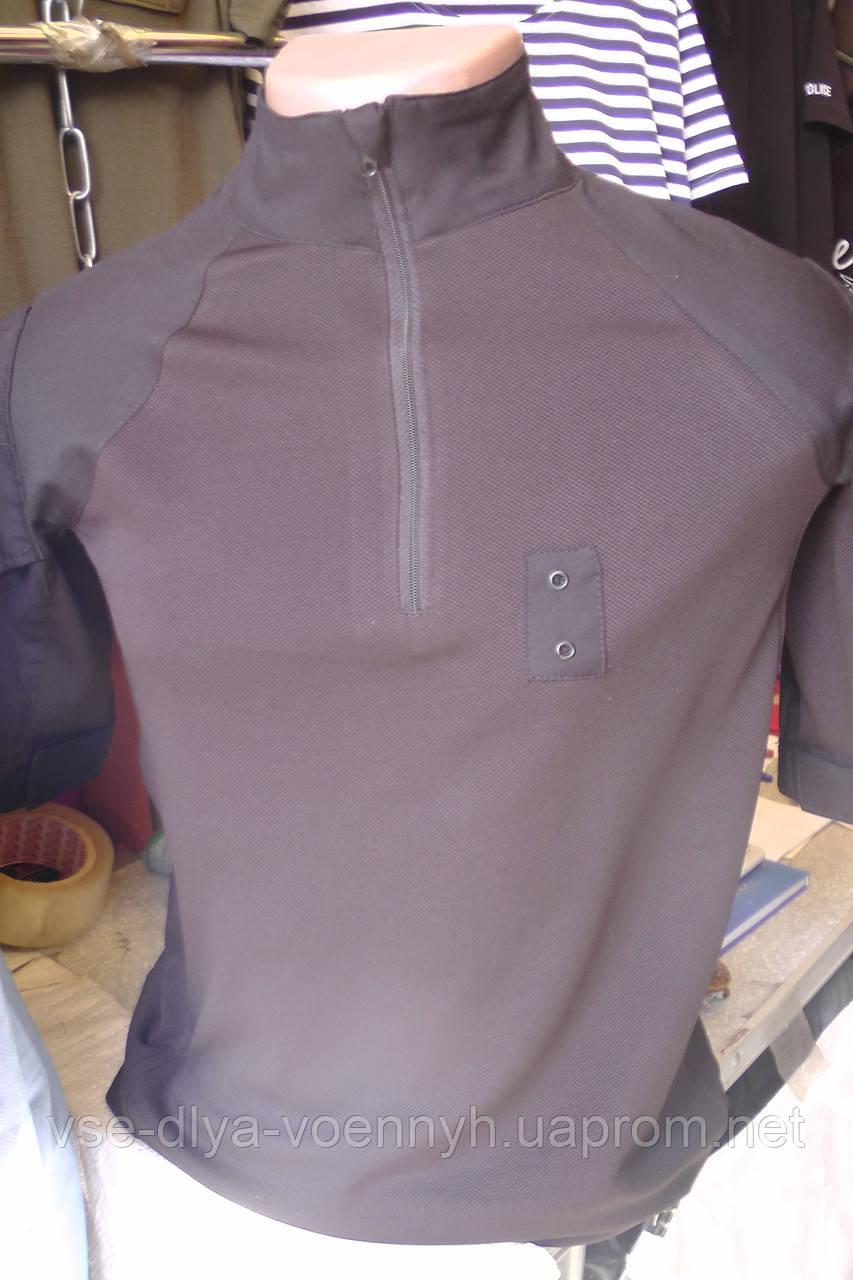 Летняя одежда для ВСУ футболка чёрная ( микрофибра )