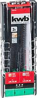 Набор сабельных пильных полотен, 3 шт. KWB 109183