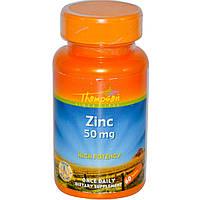 Купить витамины и минералы Thompson Zinc 50 мг, 60 tabl