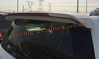 Спойлер на крышу с хромом из ABS пластика на Toyota FJ Cruiser 2006