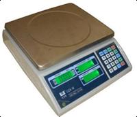 Счетные весы электронные ВТЕ-Центровес-15-Т3-С2 до 15 кг, точность 0,5 г