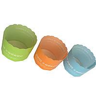 Формочки кольорові міні, асорті 5 кольор. (d-6 см, h-4,7 см), 1/500