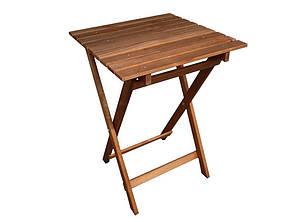 Стол раскладной садовый Patio 50x50 см