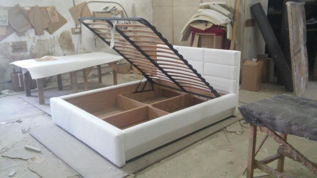 Двоспальне ліжко Спарта 5
