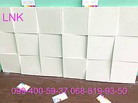 Гипсовая декоративная 3 д панель квадраты с высокопрочного и шумоизоляционного гипса