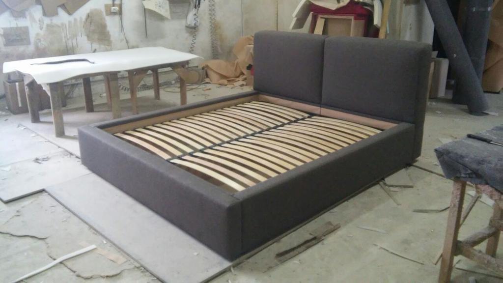 Двоспальне ліжко Кронос 3
