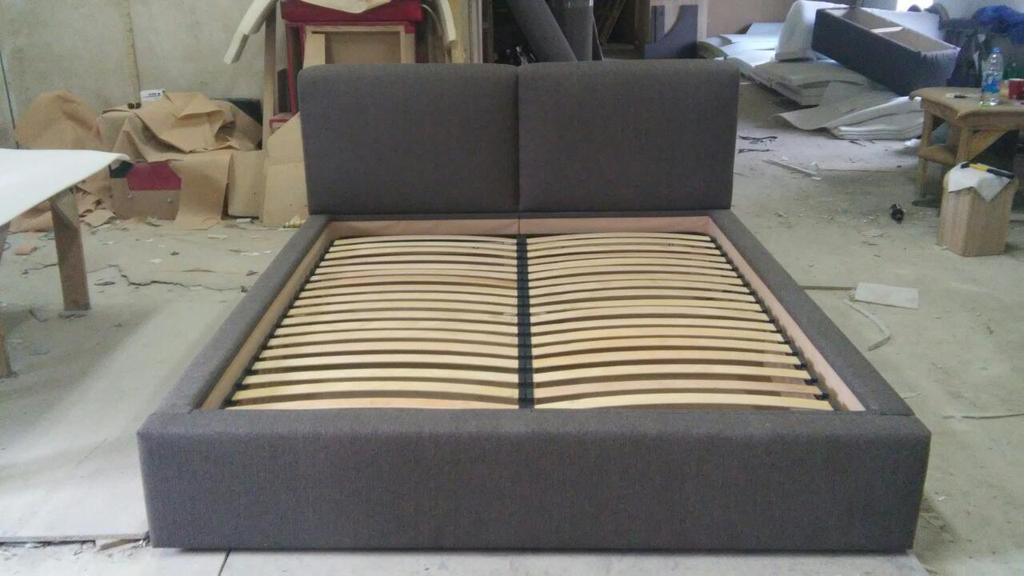 Двоспальне ліжко Кронос 4