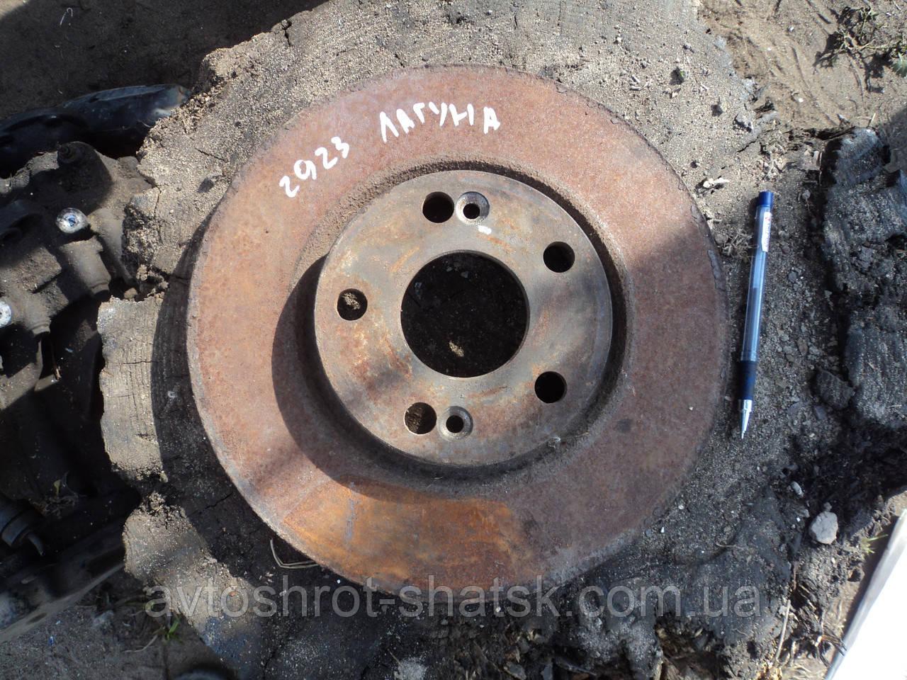 Тормозной диск рено лагуна