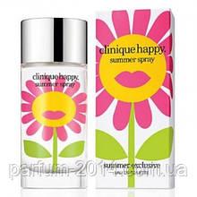 Жіноча туалетна вода Clinique Happy Summer Spray 2013 (репліка)
