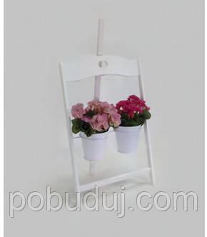 Деревянная подставка под цветы Мольберт 2/2 - Наша Стройка в Киеве