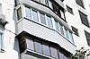 Балкон с наружной обшивкой сайдингом Рехау Rehau под ключ от Дизайн Пласт®