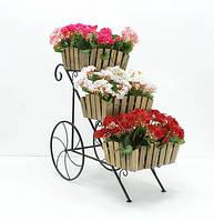 Подставка для цветов Тачка 3 Кантри