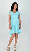 Интересное молодежное женское платье
