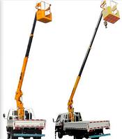 Малый подъемный кран для грузовика BOB LIFT